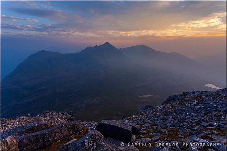 Liathach, Torridon at sunset