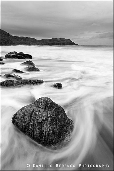 stne on dail mor beach, Isle of Lewis